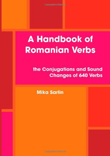 9781409275190: Handbook of Romanian Verbs