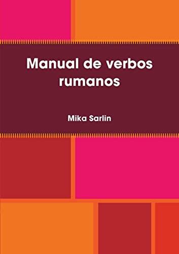9781409278412: Manual de verbos rumanos