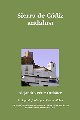 9781409283768: Sierra de Cádiz andalusí (Spanish Edition)