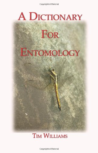 9781409290810: A Dictionary for Entomology