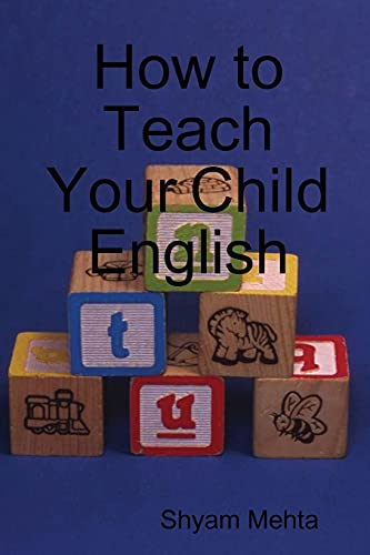 9781409291350: How to Teach Your Child English
