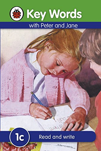 Key Words with Peter and Jane #1 Read and Write Series C: Ladybird