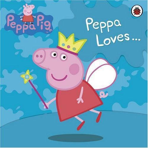 9781409302520: Peppa Pig: Peppa Loves...Cuddly Cloth Book