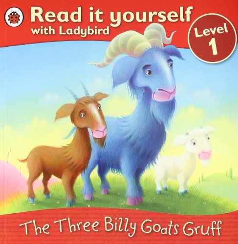 9781409303558: The Three Billy Goats Gruff - Read it yourself with Ladybird: Level 1