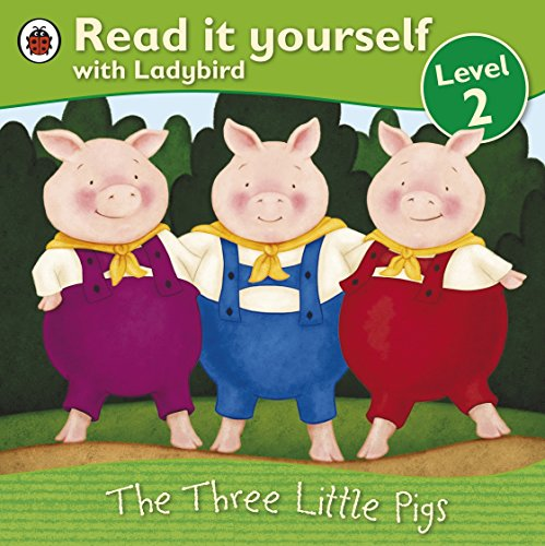 9781409303633: The Three Little Pigs -Read it yourself with Ladybird: Level 2