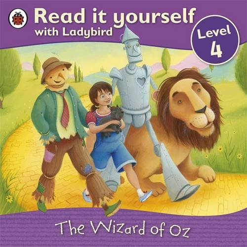 9781409303664: The Wizard of Oz - Read it yourself with Ladybird: Level 4
