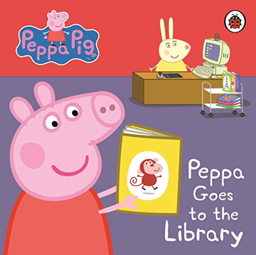 9781409304852: Peppa Pig: Peppa Goes to the Library: My First Storybook