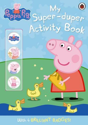 9781409305064: Peppa Pig: My Super-duper Activity Book: (with badges)