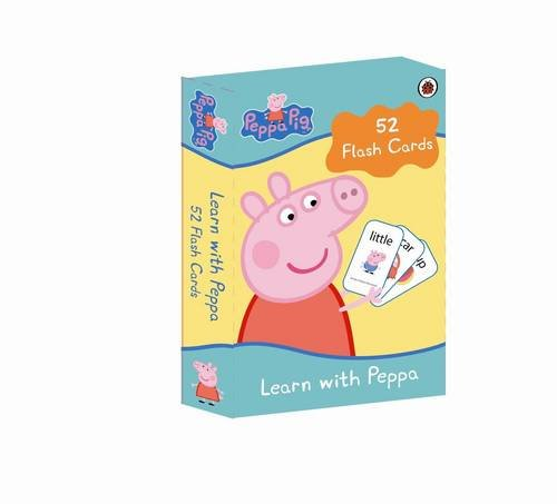 9781409305095: Peppa Pig: Learn with Peppa Flash Cards