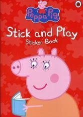 9781409305170: Peppa Pig: Stick & Play Sticker Book