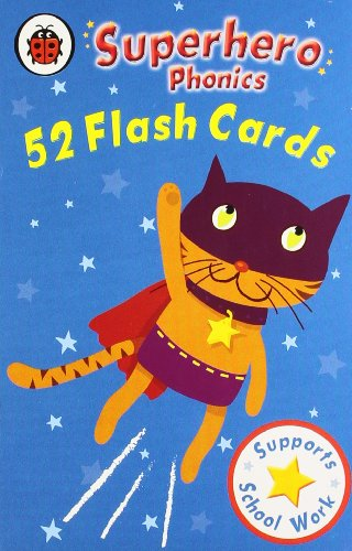 9781409305637: Superhero Phonics Flash Cards