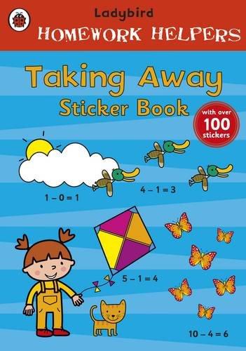 Homework Helpers Taking Away Sticker Book (9781409305682) by Ladybird