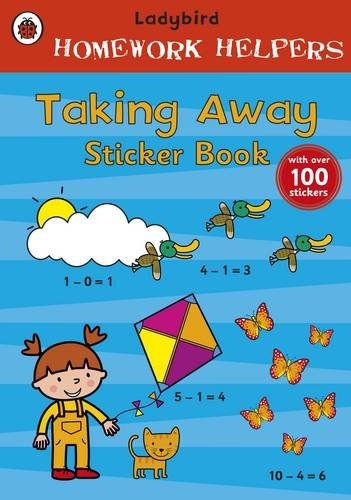 9781409305682: Homework Helpers Taking Away Sticker Book