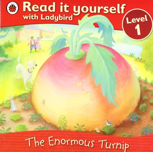 9781409307143: Read It Yourself:the Enormous Turnip:level 1 (Read It Yourself with Ladybird: Level 1)