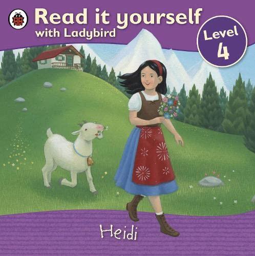 9781409307181: Read It Yourself Heidi Level 4