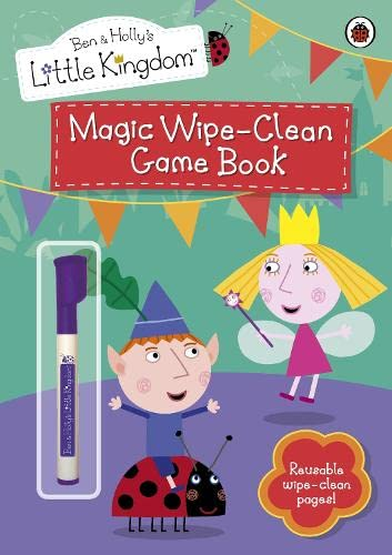 9781409308317: Magic Wipe-clean Game Book (Ben & Holly's Little Kingdom)