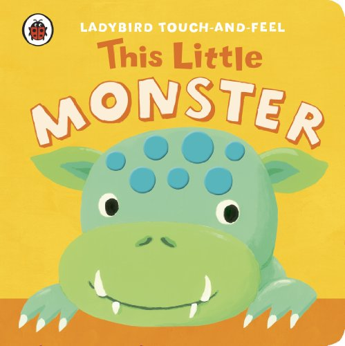 9781409308393: Touch and Feel This Little Monster