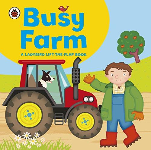 9781409308560: Ladybird lift-the-flap book: Busy Farm