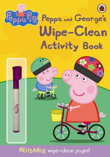9781409308621: Peppa Pig: Peppa and George's Wipe-Clean Activity Book