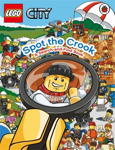 9781409308843: Lego City: Spot the Crook: A Search and Find Book