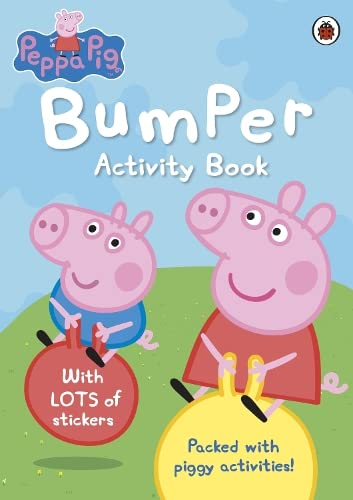 9781409308997: Peppa Pig: Bumper Activity Book