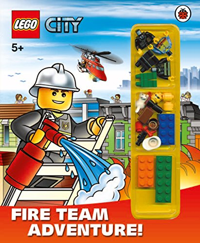 9781409309321: LEGO City: Fire Team Adventure! Storybook with minifigures and accessories