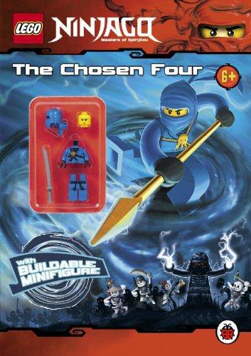 9781409309352: LEGO Ninjago: The Chosen Four Activity Book with minifigure