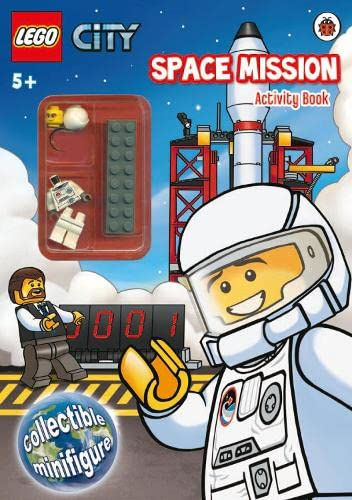 9781409310365: lego city: space mission activity book with lego minifigure