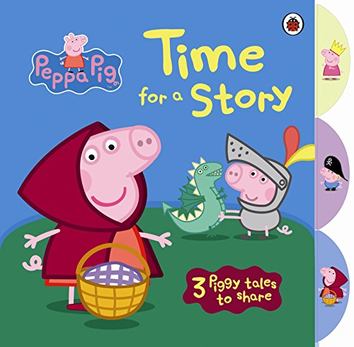 9781409311027: Peppa Pig: Time for a Story with Peppa Pig Tabbed Board Book (Peppa Pig Tabbed Book)