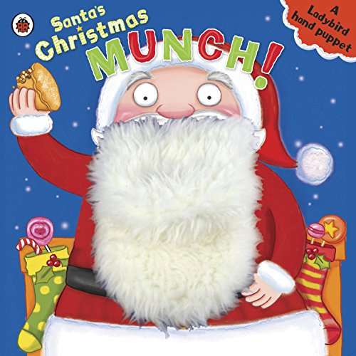 9781409312963: Santa's Christmas Munch Father Christmas Hand Puppet Book