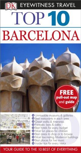 9781409326274: DK Eyewitness Top 10 Travel Guide: Barcelona