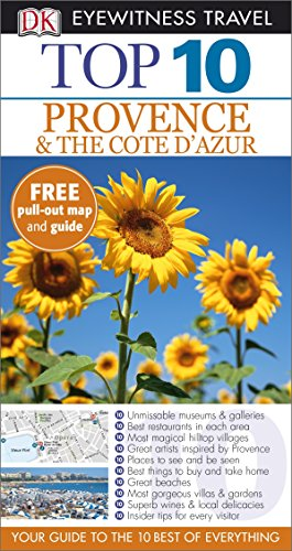9781409326366: DK Eyewitness Top 10 Travel Guide: Provence & the Cote d'Azur