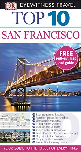 9781409326373: DK Eyewitness Top 10 Travel Guide: San Francisco