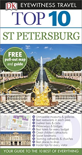 9781409326441: DK Eyewitness Top 10 Travel Guide: St Petersburg