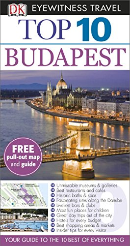 9781409326625: DK Eyewitness Top 10 Travel Guide: Budapest