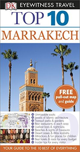 9781409326670: DK Eyewitness Top 10 Travel Guide: Marrakech
