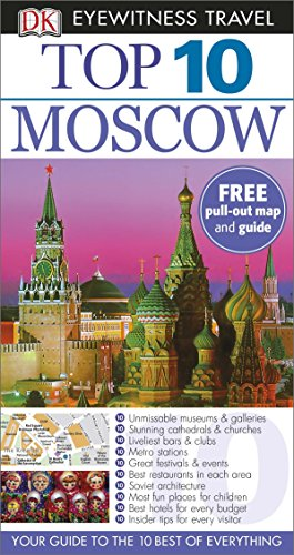 9781409326694: Top 10 Moscow (DK Eyewitness Travel Guide)
