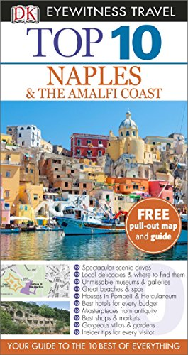 9781409326700: DK Eyewitness Top 10 Travel Guide: Naples & the Amalfi Coast