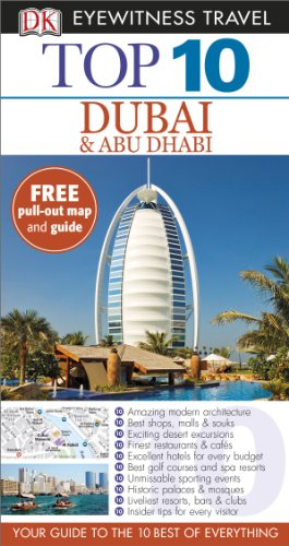 9781409326816: DK Eyewitness Top 10 Travel Guide: Dubai and Abu Dhabi
