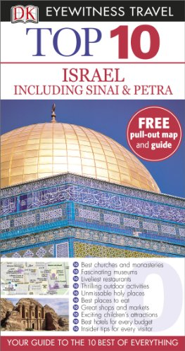 Top 10 Israel including Sinai and Petra: DK Travel