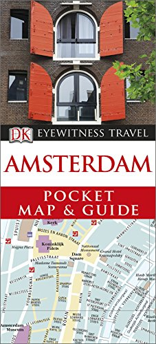 9781409326953: Amsterdam Pocket Map and Guide (DK Eyewitness Travel Guide)