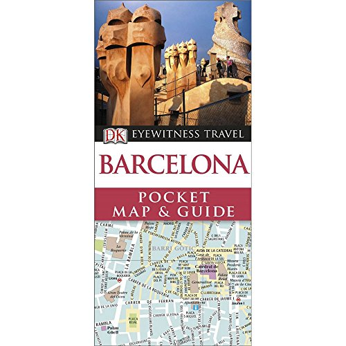 9781409327028: DK Eyewitness Pocket Map and Guide: Barcelona