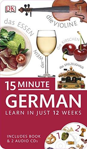 9781409331162: 15-Minute German (Eyewitness Travel 15-Minute Language Packs) (English and German Edition)