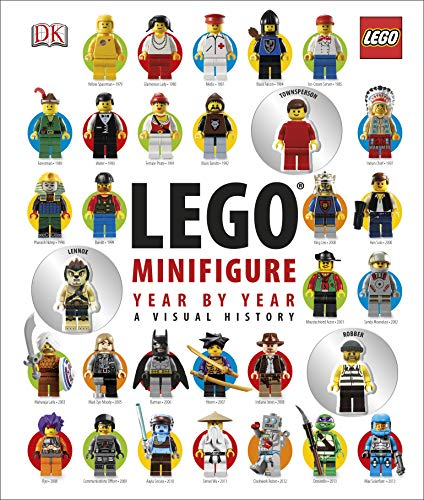 9781409333128: LEGO® Minifigure Year by Year A Visual History: With 3 Minifigures (Dk Lego)