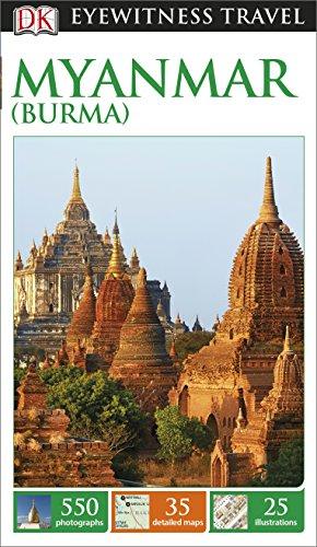 9781409340553: DK Eyewitness Travel Guide Myanmar (Burma)