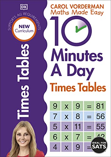 9781409341406: 10 Minutes A Day Times Table