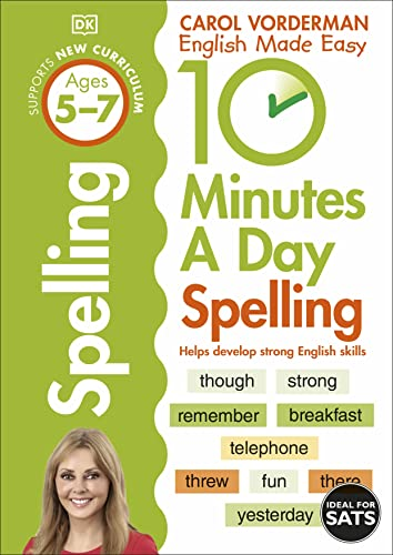 9781409341420: 10 Minutes A Day Spelling Ages 5-7 Key Stage 1 (Made Easy Workbooks)