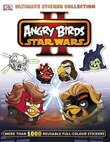 9781409344001: Angry Birds Star Wars II Ultimate Sticker Collection