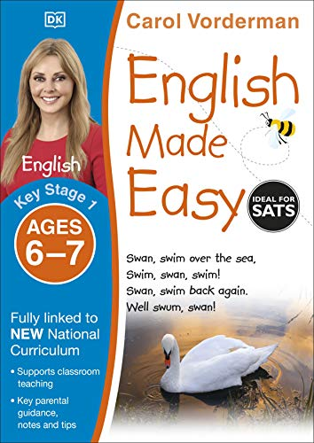 9781409344650: English Made Easy, Ages 6-7 (Key Stage 1): Supports the National Curriculum, Preschool and Primary Exercise Book (Made Easy Workbooks)