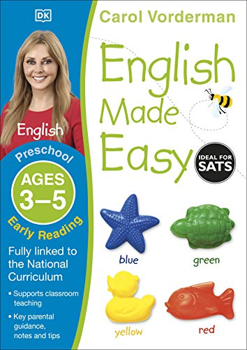 9781409344698: English Made Easy Preschool Early Reading Ages 3-5ages 3-5 Preschool (Carol Vorderman's English Made Easy)